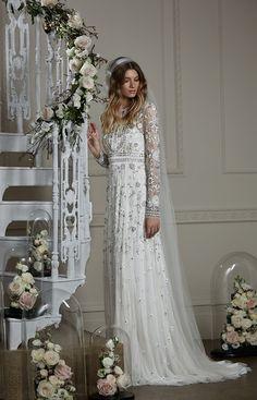778873864eba 107 Best Needle and thread bridal images   Dress wedding, Elegant ...
