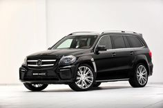 """I Grow Up"" – Mercedes GL63 AMG by Brabus"