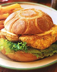 Fried-Catfish Sandwiches with Spicy Mayonnaise Recipe - Quick From Scratch Fish & Shellfish | Food & Wine Mouthwatering!