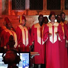 DMU Gospel Choir - recorded on location at Brooksby Church