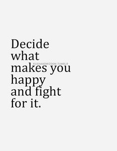 But the fight is living that everyday against all odds - not fighting as a force of opposition ; )