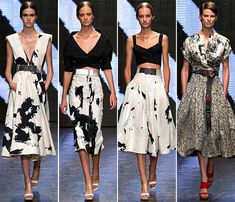 The Donna Karan spring/ summer 2015 collection put the theme of the clothes showcased at New York Fashion Week spring 2015 very clear: street art! New York Fashion, Fashion News, New Yorker Mode, Become A Fashion Designer, Donna Karan, Spring Summer 2015, Courses, Women's Leggings, Sport Outfits