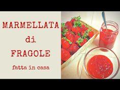 Ricetta della marmellata di fragole fatta in casa con una nuova tecnica a cottura ridotta per mantenere intatto il sapore, il colore e