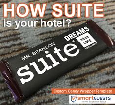 Customer Service Experience, Hotel Services, Custom Candy, Customer Engagement, Candy Wrappers, The St, Bossbabe, Best Hotels, Hospitality