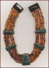 Gerda Lynggaard for MONIES Multi-Strand Horn Necklace