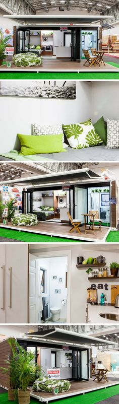 SCARLET – OFF THE GRID, TINY CONTAINER HOME