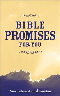 Bible Promises for You  by Zondervan  #ChristianKindle  Bible Promises for You is an collection of promises taken from the New International Version of the Bible, and is categorized by topic for easy reference....