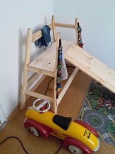Klettergerüst Kinderzimmer Waldorf Holz