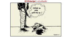 El caricaturista expresa su protesta ante la acción de Juan Sebastián Toro.