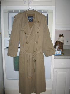 Casaco Trench Coat Off White Hering