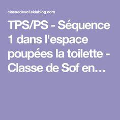 TPS/PS - Séquence 1 dans l'espace poupées la toilette - Classe de Sof en…