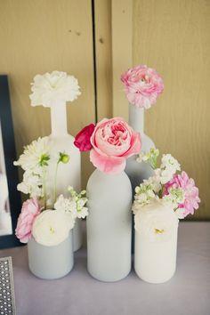 DIY- Garrafas decorativas para casamento - Noiva Sem Stress