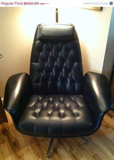 Douglas eaton chair mid century modern accent chair
