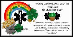 EMS Irish EMT and Paramedic Wishes