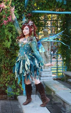 Award winning Renaissance Faire and Cosplay Fire Fairy costume. Professionally constructed with only the finest materials. Costume consists of six compo. Water Fairy Costume, Faerie Costume, Fairy Costumes, Dark Fairy Costume, Woodland Fairy Costume, Cool Costumes, Cosplay Costumes, Olaf Costume, Renaissance Festival Costumes