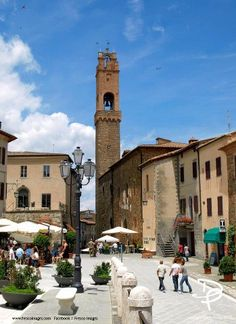 Montalcino Tuscany. Click link for more photos of this stunning town