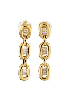 Radiant Gold Tone Earrings - JEWELRY For matching necklace - http://www.mkcollab.com/profile/sharonwatkins