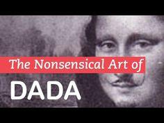 How one of the most interesting art movements formed during WWI. (Little Art Talks) ICT in Visual Arts Education High School Art, Middle School Art, Art History Lessons, Art Lessons, Dada Art, Art Criticism, Mona Lisa, Pop Art, Art Curriculum