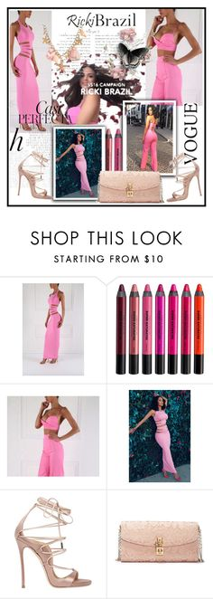 """Ricki Brazil"" by lip-balm ❤ liked on Polyvore featuring Whiteley, Urban Decay, Dsquared2, Dolce&Gabbana and rickibrazil"