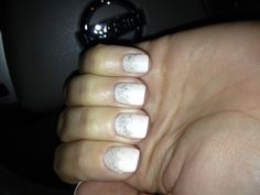 Shellac winter nails :) idea from another pin!