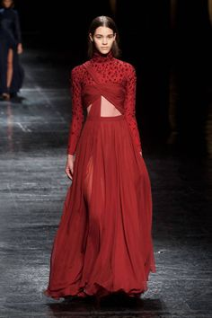 The most outrageously gorgeous gowns from NYFW 2014: Prabal Gurung