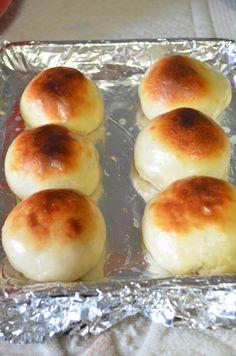 Thengai/Coconut stuffed buns ~ Nalini's Kitchen