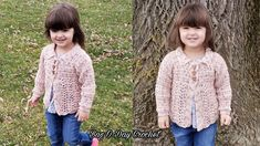 Crochet PATTERN - Soft Wool Peplum Cardigan (sizes baby up to 8 years) (English only) Crochet Toddler Sweater, Crochet Baby Sweaters, Crochet Cardigan, Cardigan Pattern, Crochet For Kids, Easy Crochet, Crochet Hooks, Crochet Children, Pattern Baby