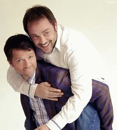 Misha Collins and Mark Sheppard, I do love these two.