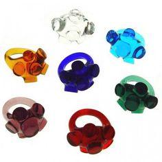 Orfeo Quagliatta glass rings