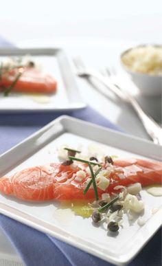 HUON Salmon Carpaccio