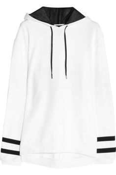 Must Have #Sweatshirt -KARL LAGERFELD – Samantha cotton-jersey hooded sweatshirt