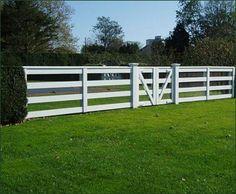 Four Rail Double Gate Entrance Gates Wood Gates And