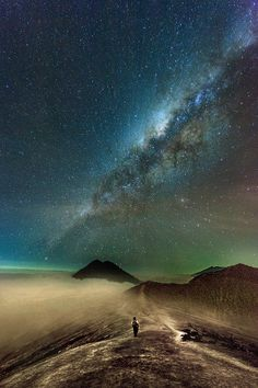lost in space by Eko Sumartopo on 500pxDescription ijen mountain milky way................... thk:::::::::::::::The Ijen volcano complex is a group of stratovolcanoes, in East Java, Indonesia. It is inside a larger caldera Ijen, which is about 20 kilometers wide. The Gunung Merapi stratovolcano is the highest point of that complex. Wikipedia