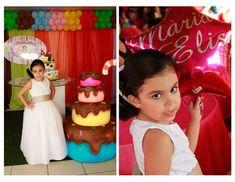 SÃO Abc Birthday Parties, Girls Dresses, Flower Girl Dresses, Wedding Dresses, Party, Fashion, Events, Fotografia, Bride Gowns
