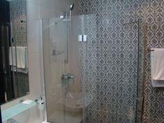 Bathroom at hotel Rabath
