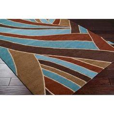 Artistic Weavers - Querrien Sky Wool Area Rug - 4 Feet x 6 Feet - Querrien-46 - Home Depot Canada