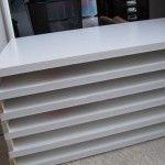 DIY foam core flat file