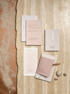 5 Invitations Inspired by Wedding Locations K.Rawson custom suite, price upon request, kaelarawson. Invite Design, Stationary Design, Branding Design, Corporate Design, Identity Branding, Visual Identity, Logo Design, Minimalist Wedding Invitations, Wedding Stationary