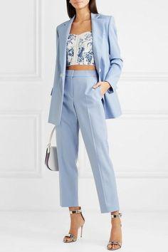 Pantsuits for Women – Fashion Corner Curvy Outfits, Classy Outfits, Casual Outfits, Casual Blazer, Blazer Outfits, Blazer Dress, Blazer Suit, Suit Fashion, Look Fashion