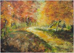 A DAY TO REMEMBER, original painting by Emilia Milcheva, 70x50cm