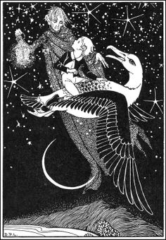 Dorothy Lathrop : Illustration for 'Mopsa The Fairy' by Jean Ingelow White Art, Black And White, Classic Fairy Tales, Collaborative Art, Art Database, Children's Book Illustration, Book Illustrations, Faeries, Childrens Books