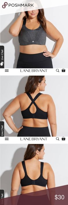 7edf47e44fc45 NWT Lane Bryant sports bra Your best bet for a bounce-free high-impact