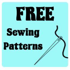 A Gazillion Free sewing patterns