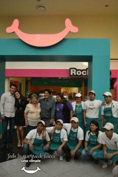 Aperturamos nuestra 1er franquicia vendida! en El Centro Comercial El Paseo de Tehuacán!