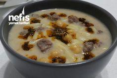 Köfte Ve Nohutlu Arpa Şehriye Çorbası Tarifi