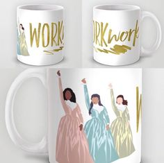 Hamilton Mugs - I wish they had individual Schuyler Sister mugs for a best friend group or something. That'd be adorable.