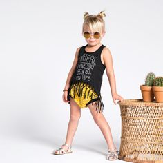 """""""Where Have You Been"""" Fringe Tank + Sunshine Bummies™ 