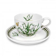 snowdrops  http://www.portmeirion.co.uk/portmeirion-botanic-garden-flower-of-the-month-january-teacup-saucer.html
