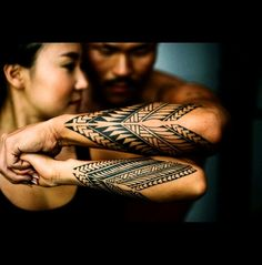 20 Secrets About Matching Tribal Tattoos For Couples That Has Never Been Revealed For The Past 20 Years Maori Tattoo Arm, Tribal Band Tattoo, Tribal Heart Tattoos, Polynesian Tribal Tattoos, Samoan Tattoo, Forarm Tattoos, Girl Arm Tattoos, Couple Tattoos, Leg Tattoos
