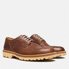 #Fracap G180 Derby Brogue Shoes Marrone
